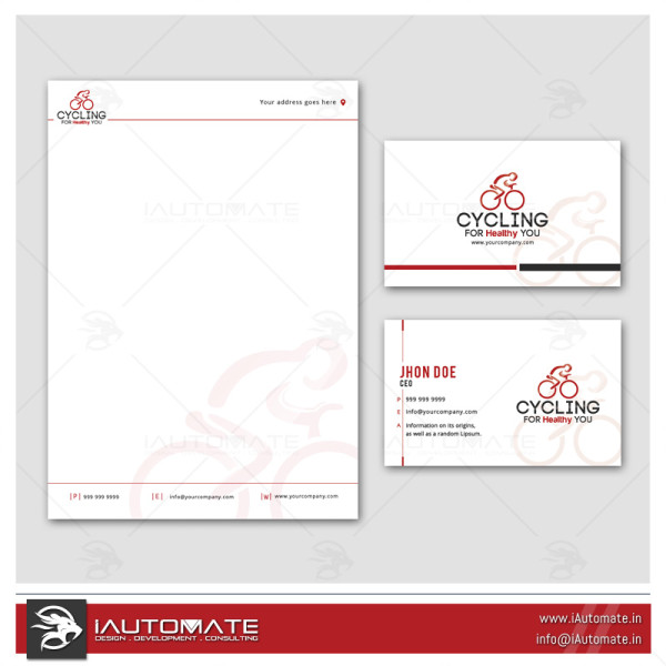 Cycle Company Office Stationary Design