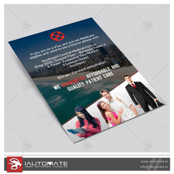 Medical Company Flyer Design