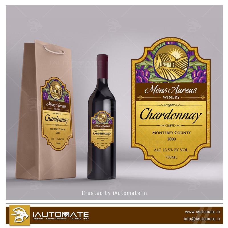 Wine Bottle Label Design Iautomate