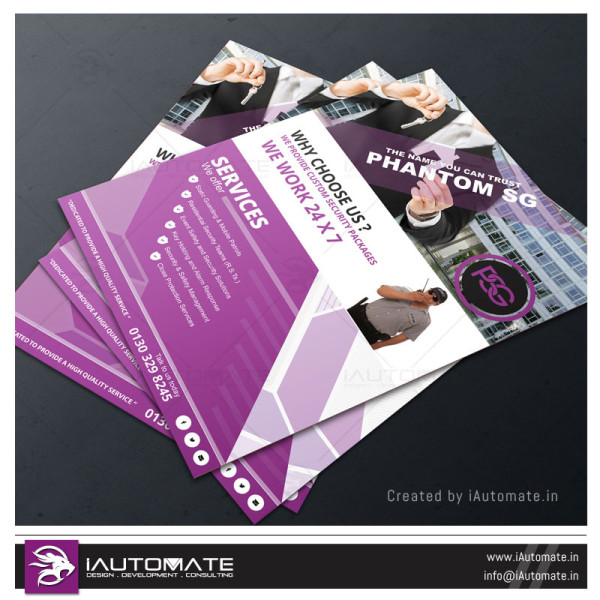 Security Company Corporate Flyer Design