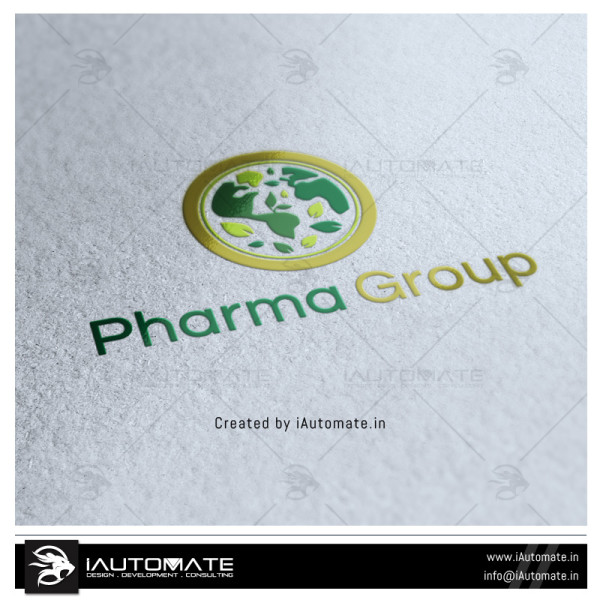 Pharmaceutical Company Logo Design