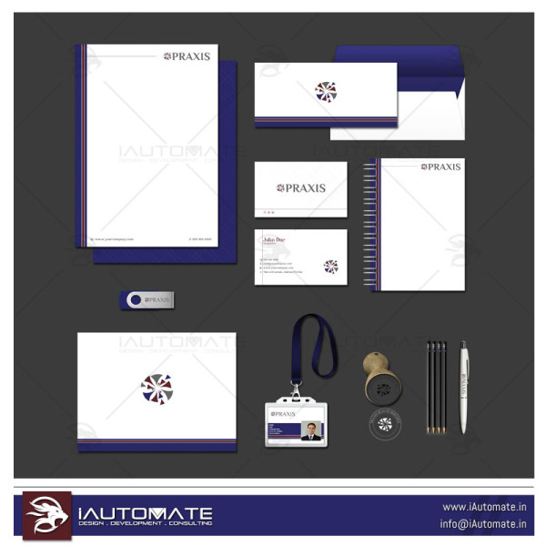 Corporate Office stationary design