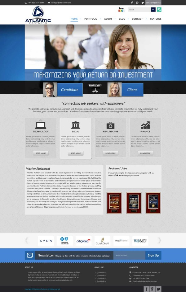 Attorney Website design & development (2)