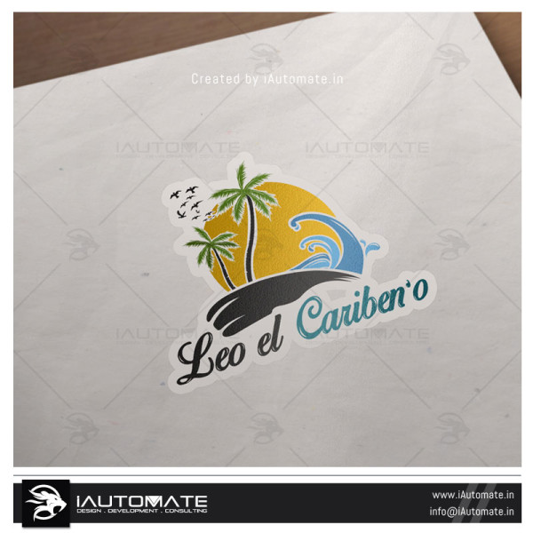 Beach villa Logo Design
