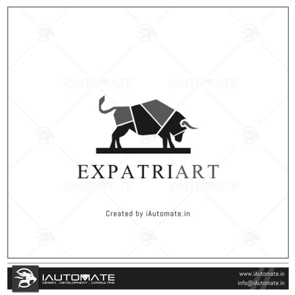 Bull Mascot Logo Design