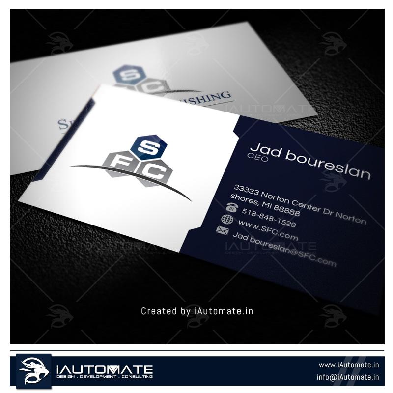 Business Cards Design Portfolio | iAutomate