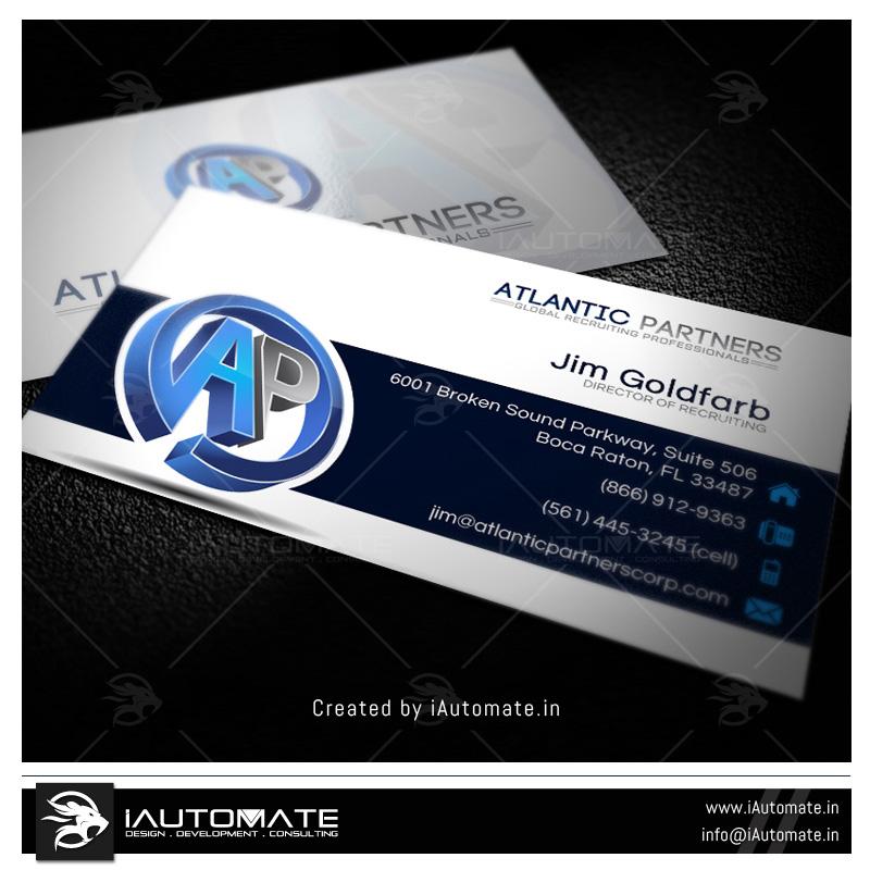 Business Cards Design Portfolio Iautomate
