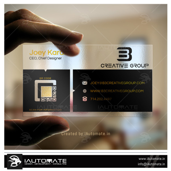 Creative Company Business Card Design