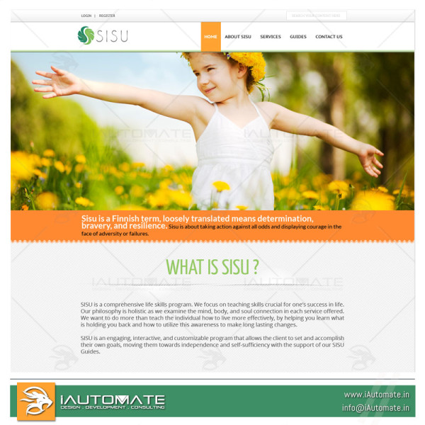 Drug recovery system website design