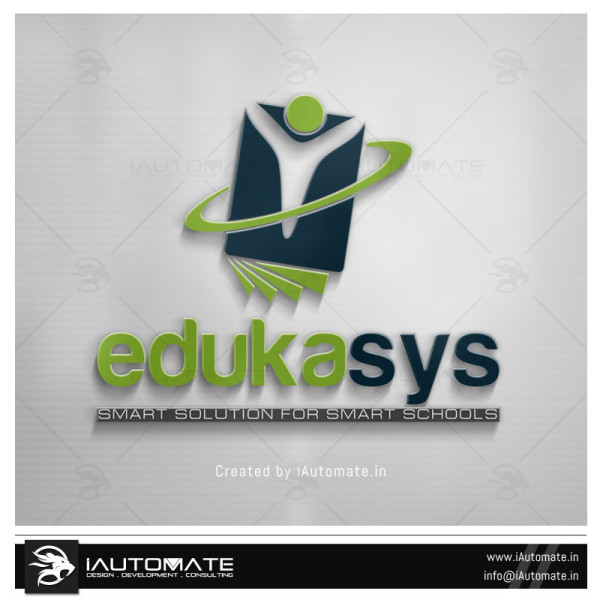 Education System Logo Design