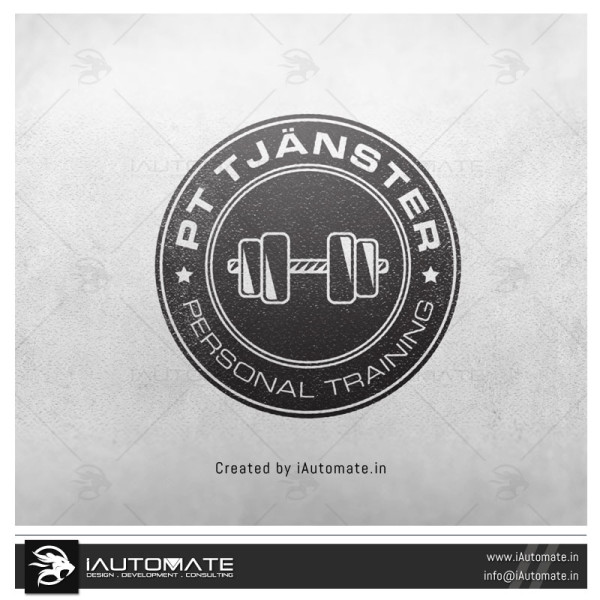 Fitness Trainer Logo Design