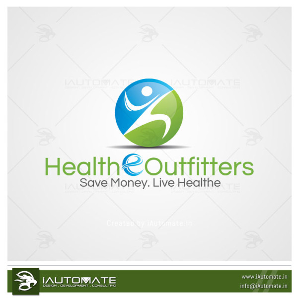 Health Products Logo Design