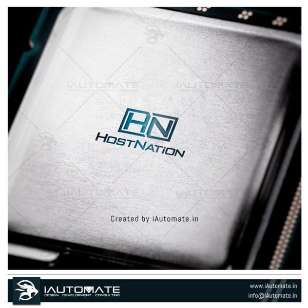 Hosting Company Logo Design