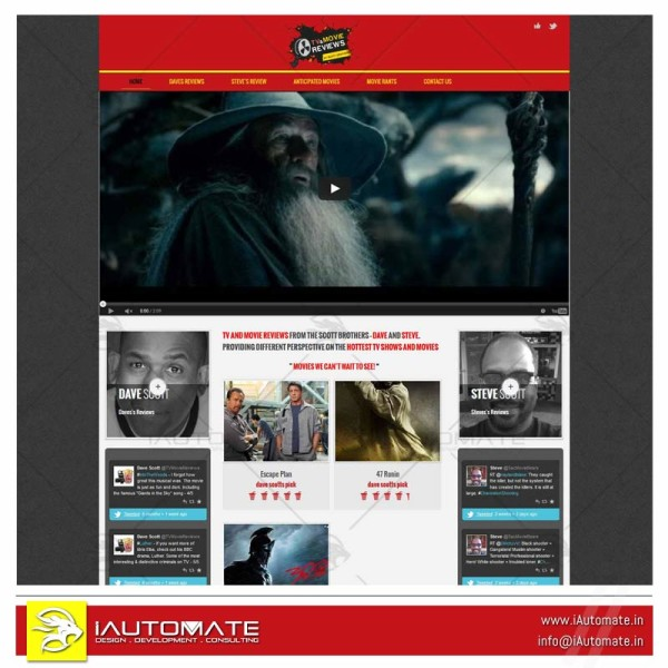 Movie review wordpress Blog