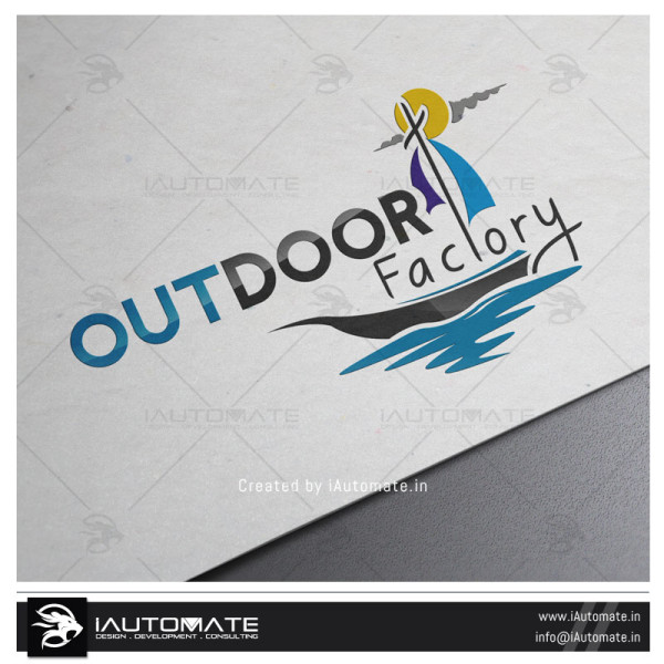 Outdoor Camping Logo design