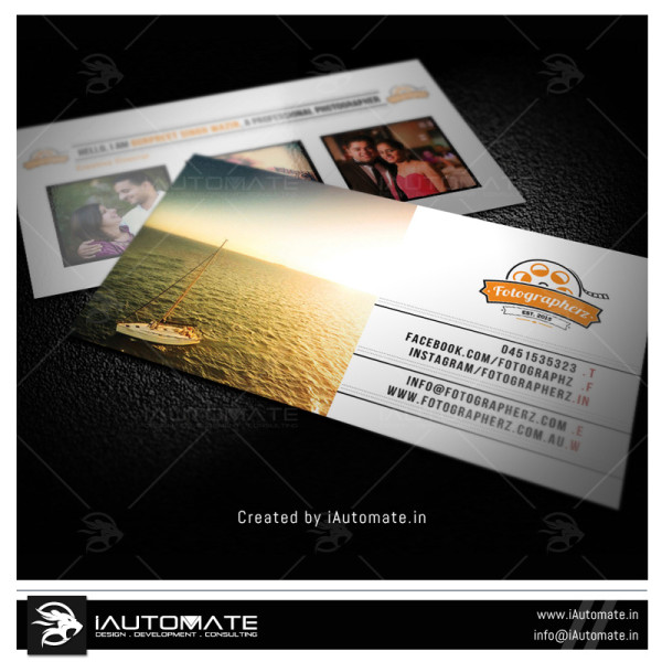 Photo Studio business card design