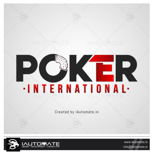 Poker Game Logo Design