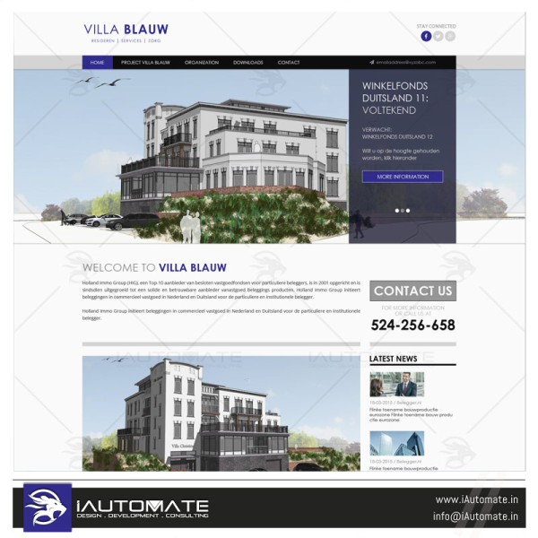 Realators website design and development