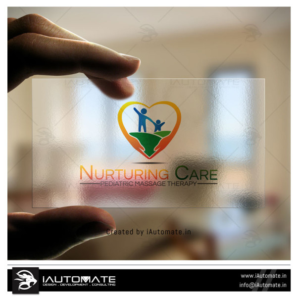 Nurtural care logo design