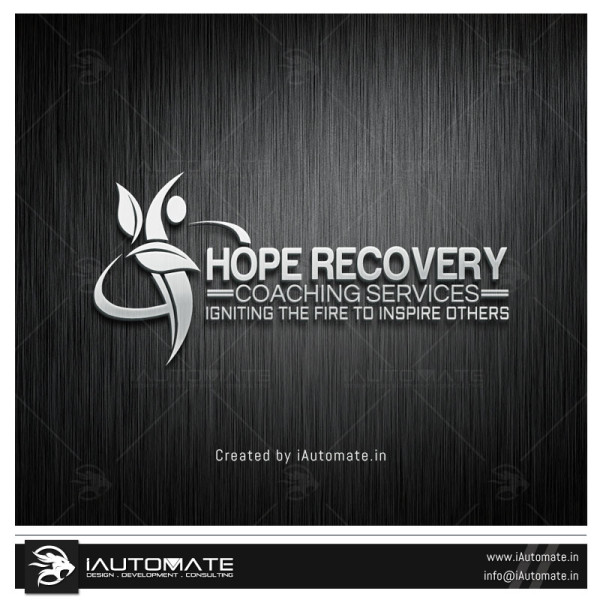 Recovery center logo design