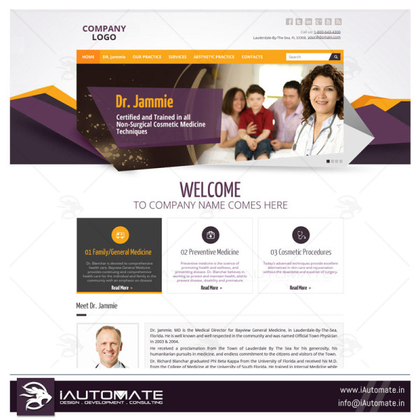 Websites for doctors
