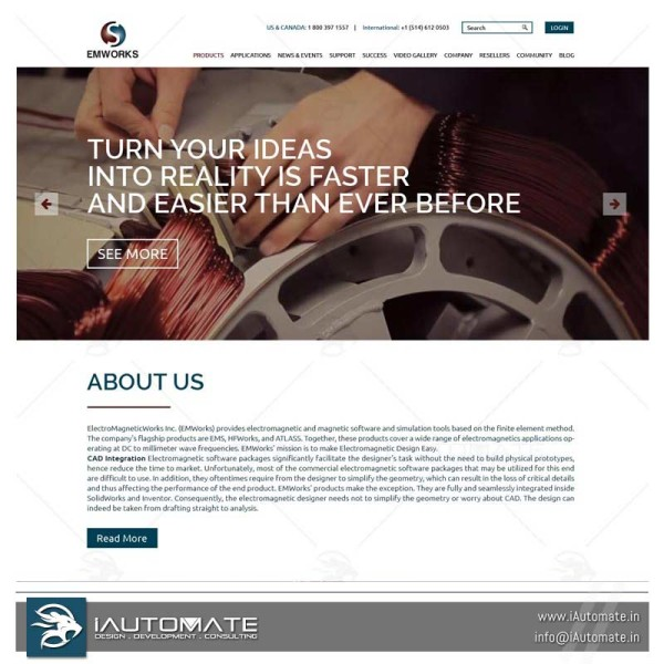 Auto desk solidworks software website