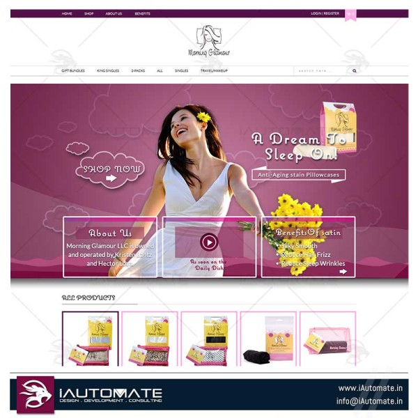 Ecommerce Creative website