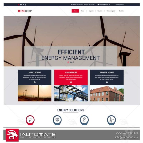 Energy Management company website