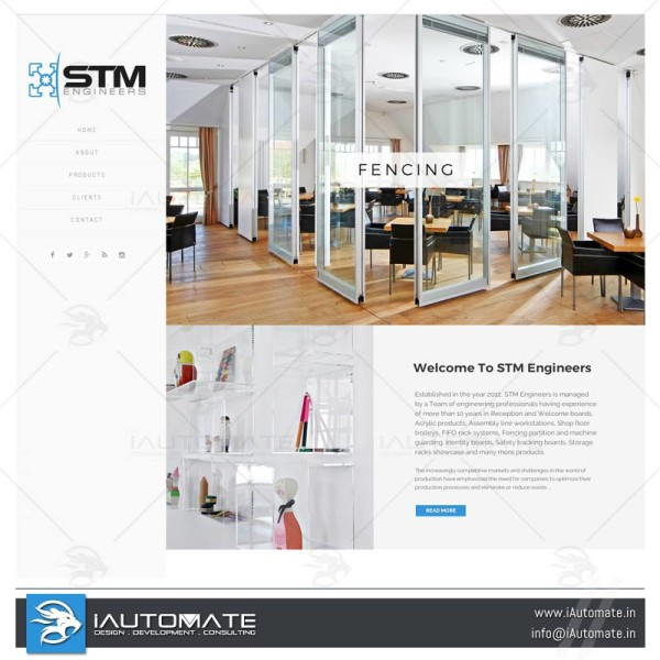 Fabricators and manufacturers website
