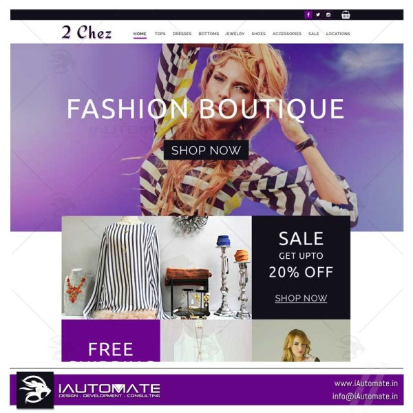 Fashion Ecom store website