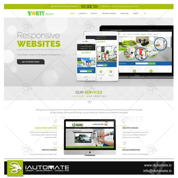 Website design agency website