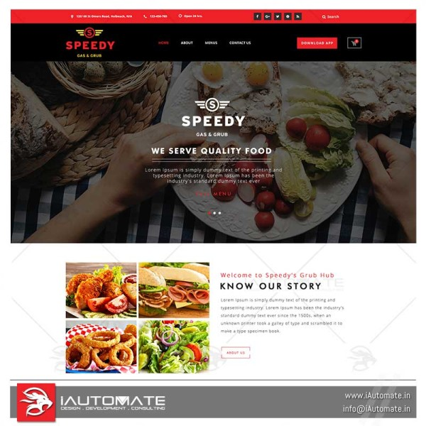 Online Resturant system and apps