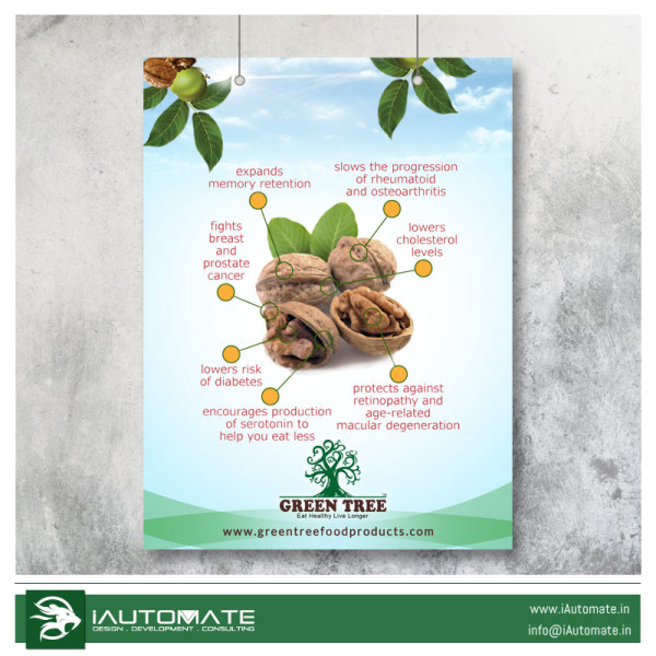 walnut poster design