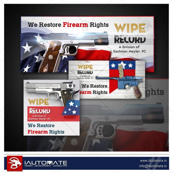 wipe record gun banner