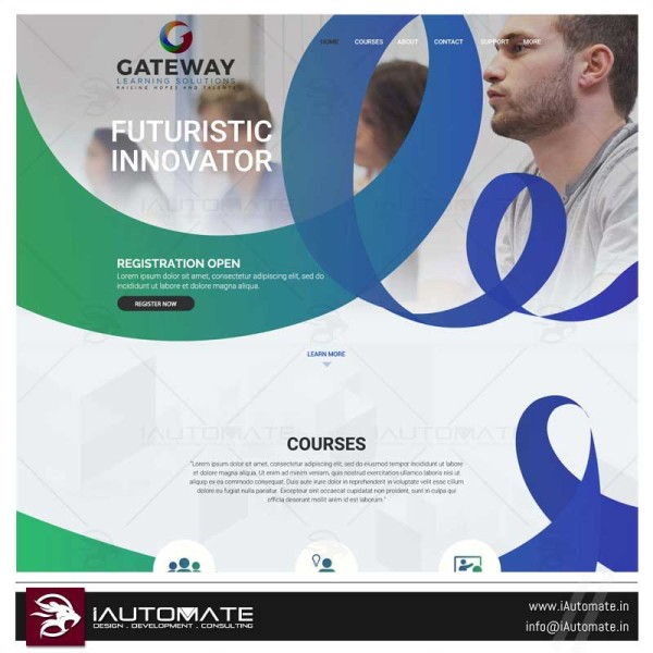 Online Learning solutions Gateway – web design development