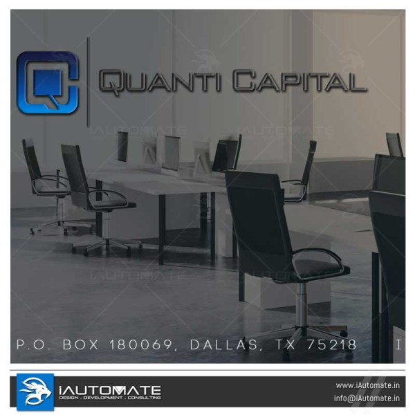 Quanti Capital wordpress web design