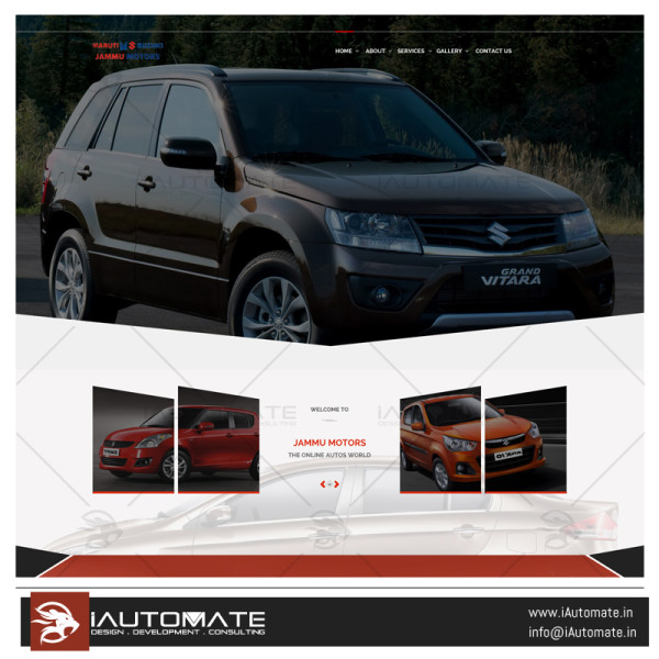 Jammu Motors webdesign and development