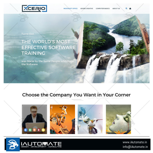 Xcerio webdesign