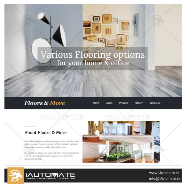 floors & more wordpress website design