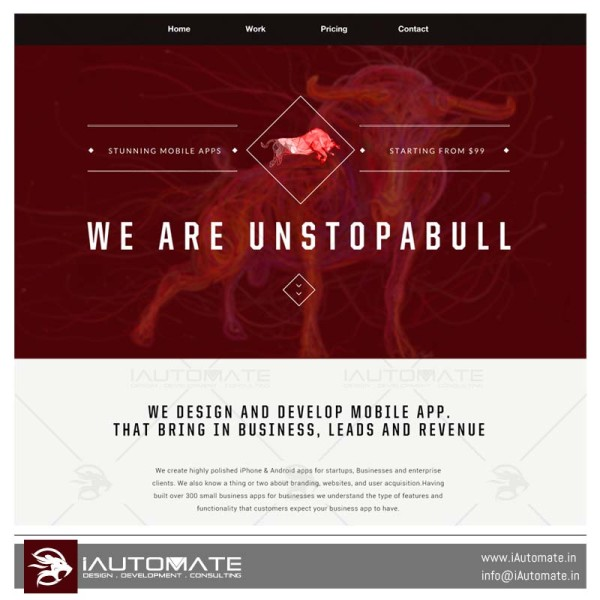 Unstopabull Website and Development