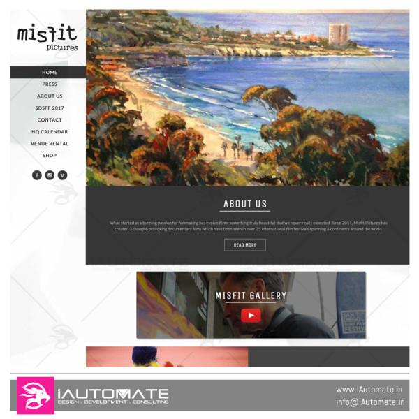 Misfit web design
