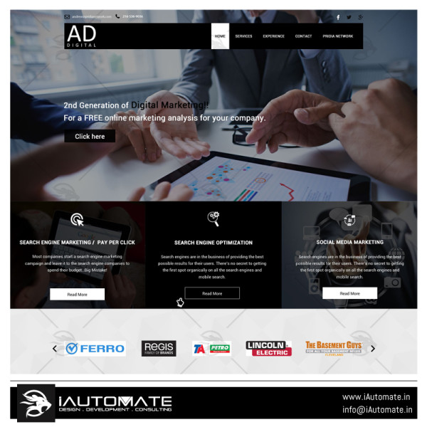 AD-Digital web design