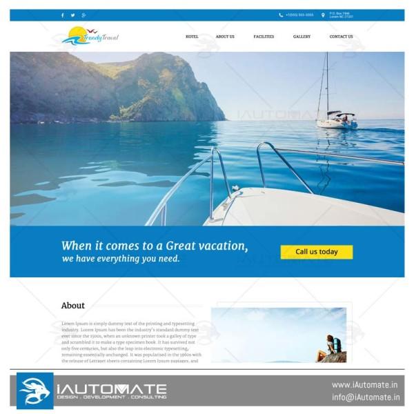 Traveller Portfolio Website